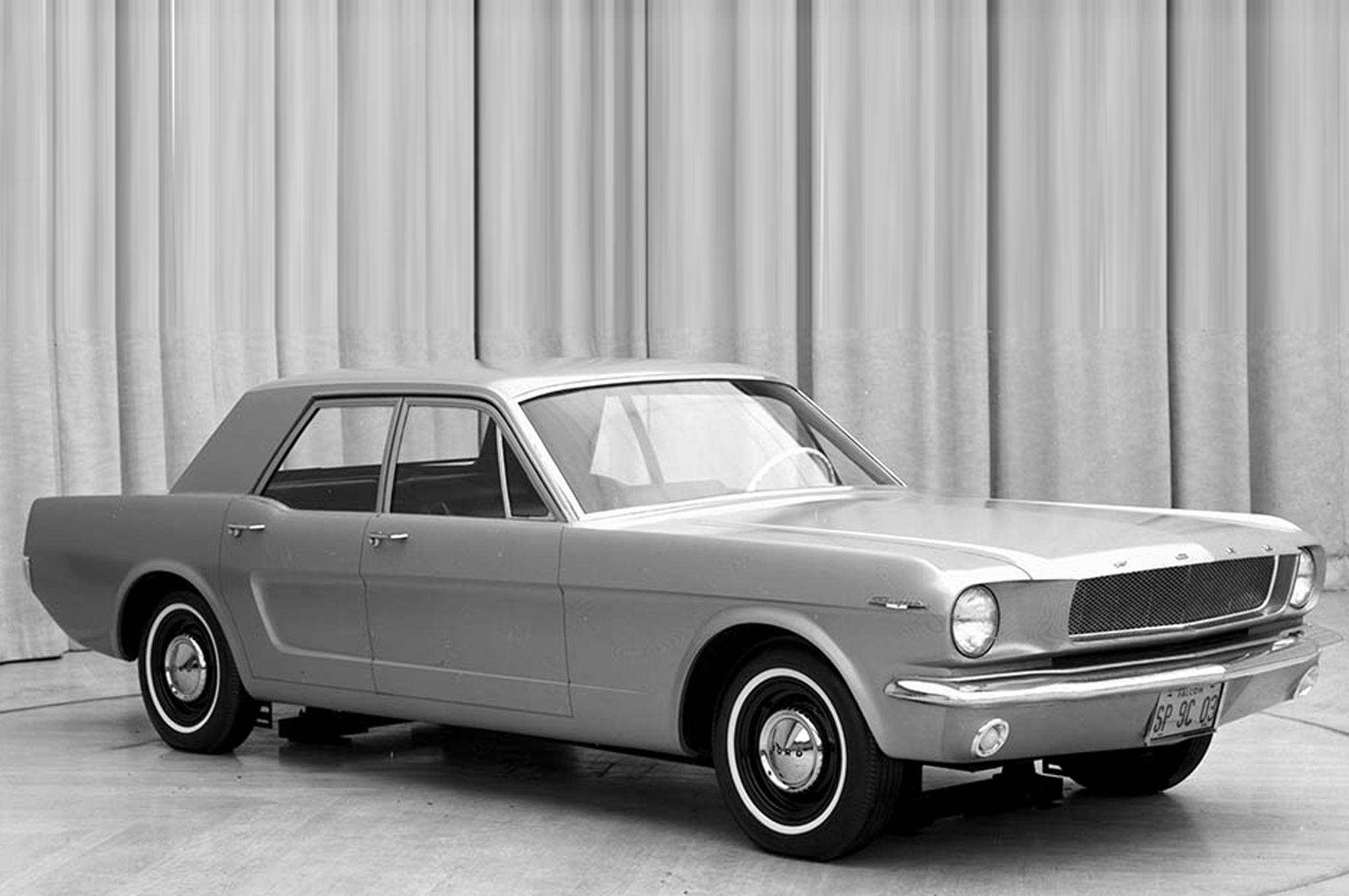 1965р. Чотиридверний Mustang, фото Ford Mustang