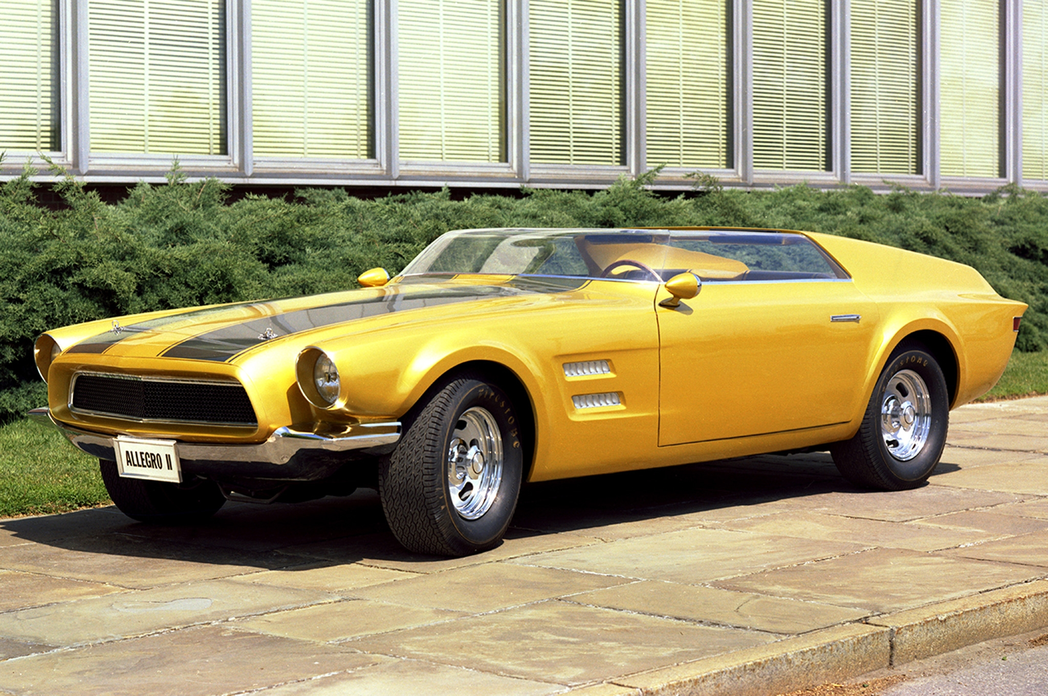 1967р. Allegro II Concept, фото Ford Mustang