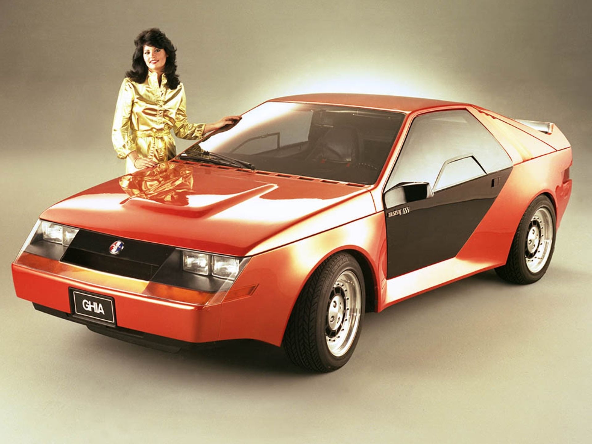 1980г. Mustang RSX Concept, фото Ford Mustang