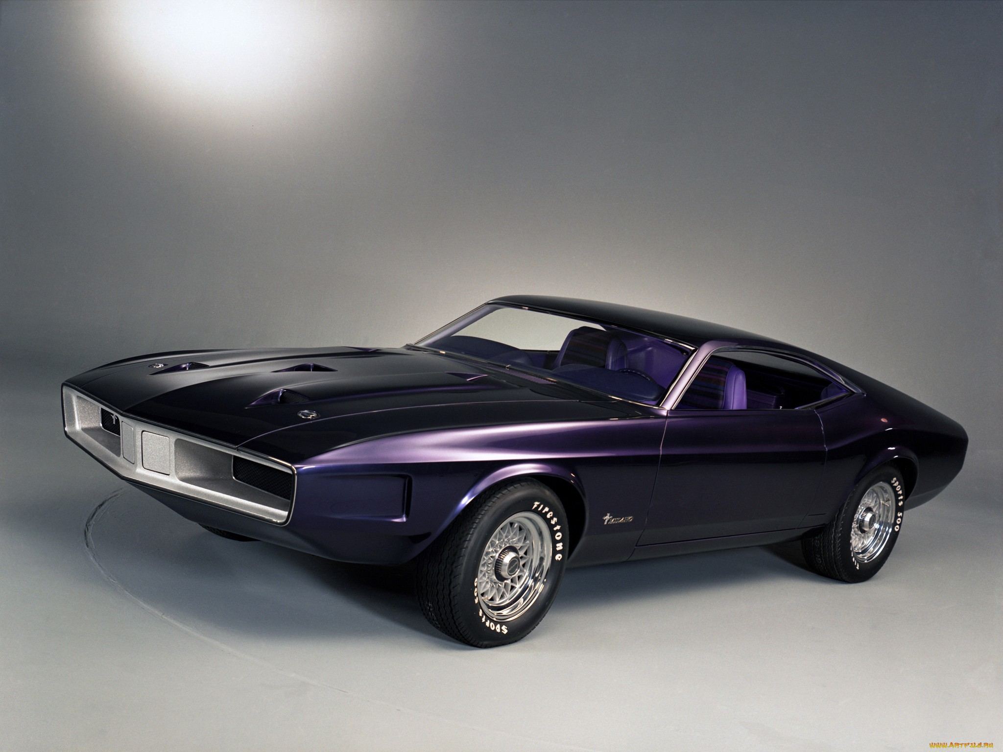 1970р. Mustang Milano Concept, фото Ford Mustang