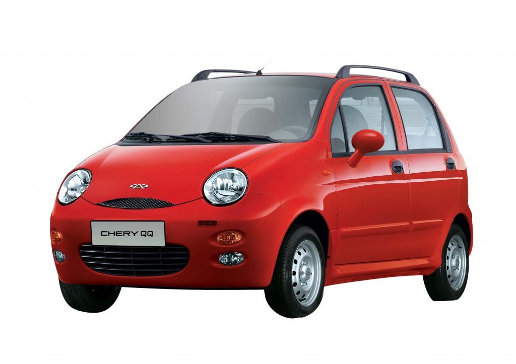 фото Chery QQ, Daewoo Matiz, китайські копії світових автомобілів