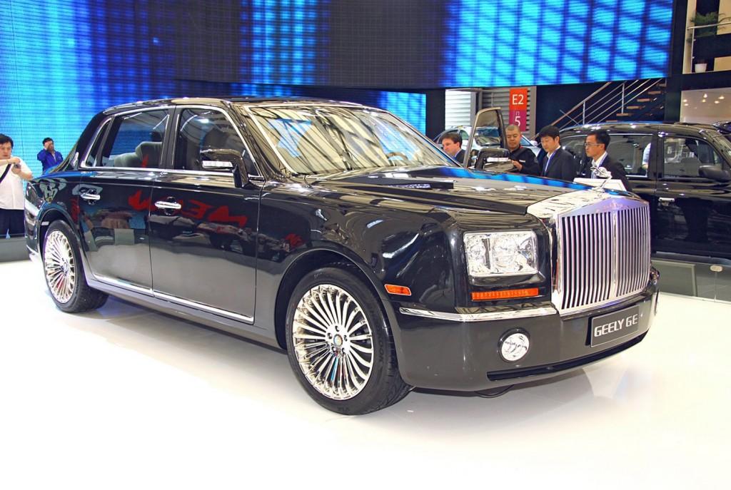 фото Geely GE, Rolls-Royce, китайські копії світових автомобілів