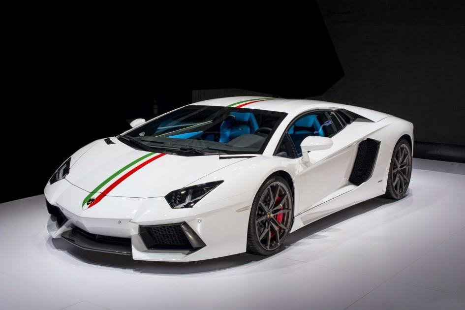 фото Lamborghini Aventador Nazionale