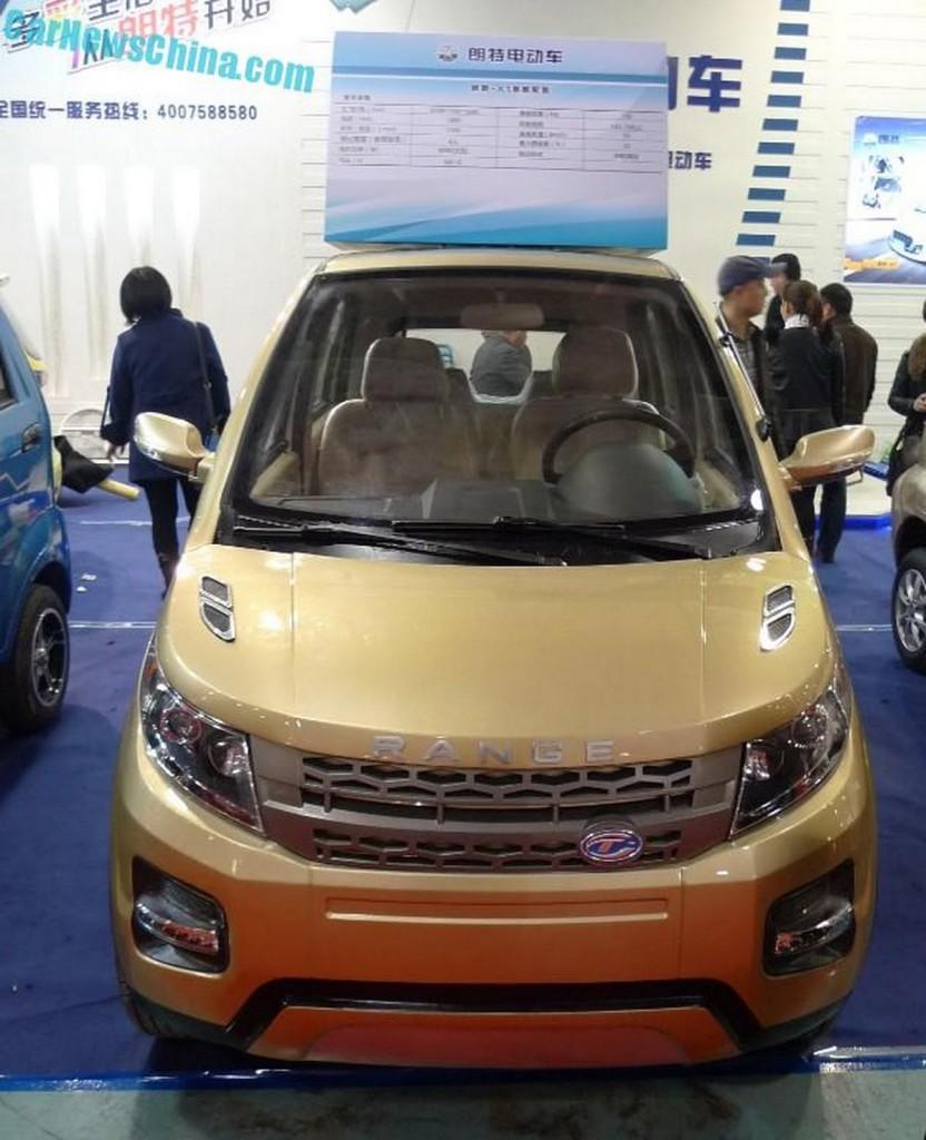 фото Longer Yuelang X1, Range Rover Evoque, китайські копії світових автомобілів