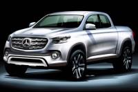 Mercedes-Benz пікап 2018