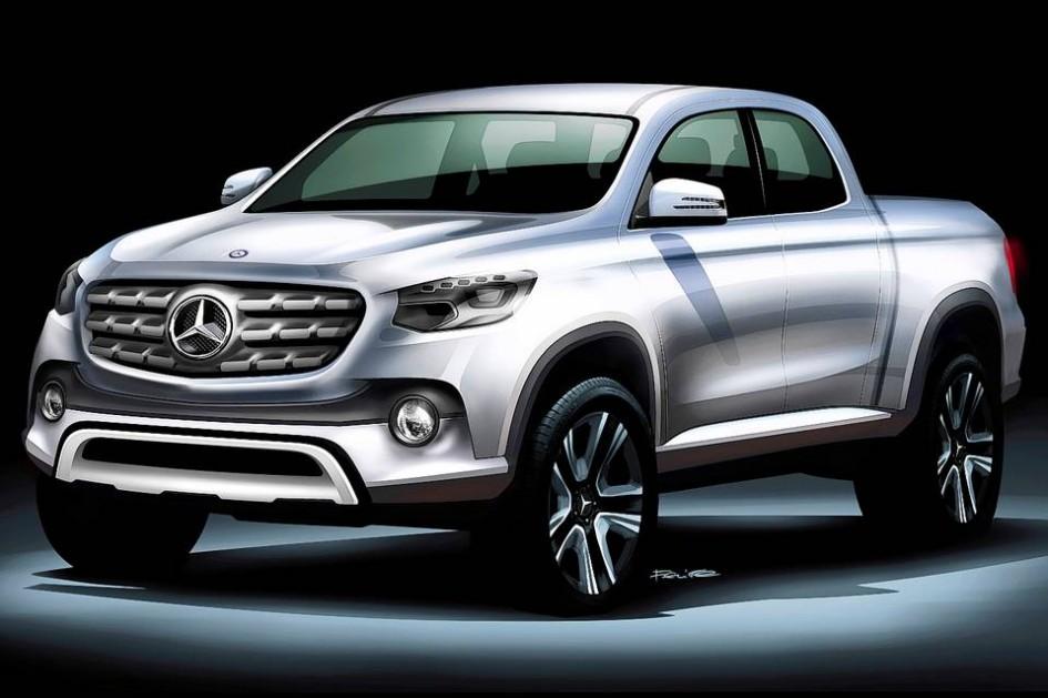 фото Mercedes-Benz пікап, pick-up, 2018, VW Amarok, Toyota Hilux