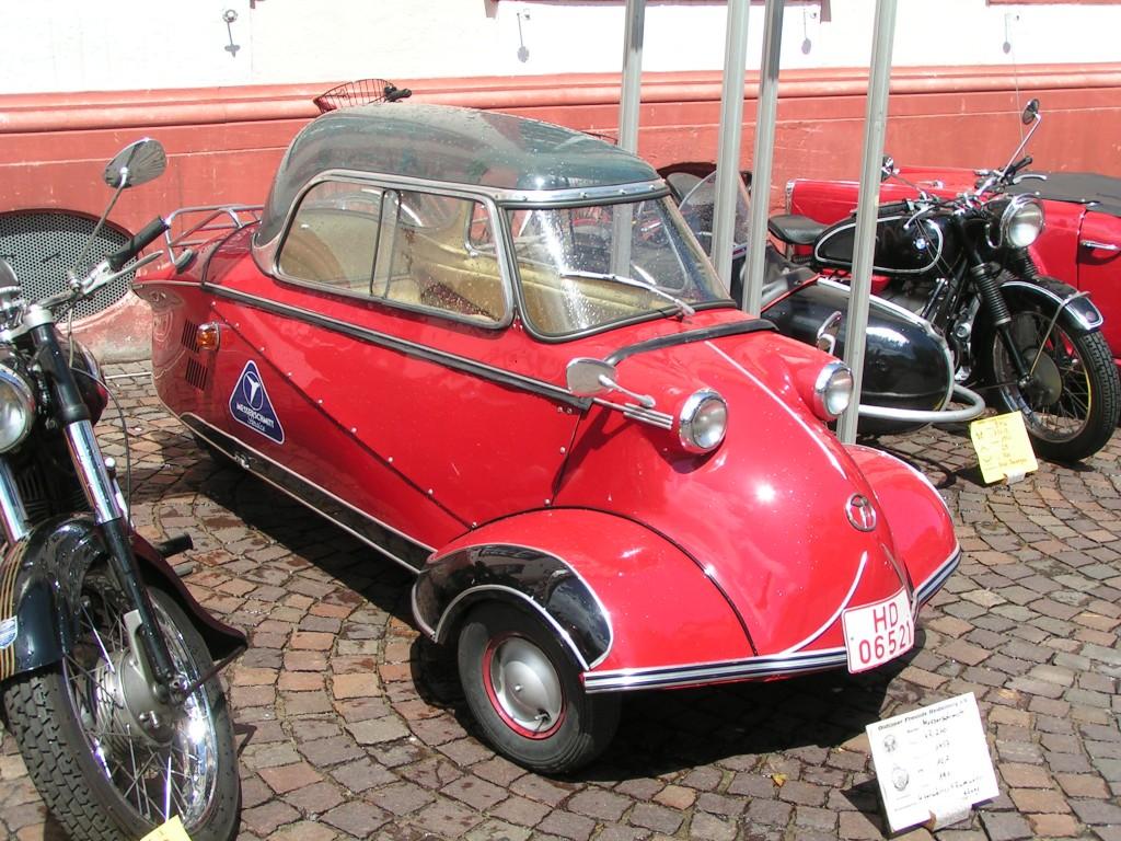фото Messerschmitt Kabinenroller
