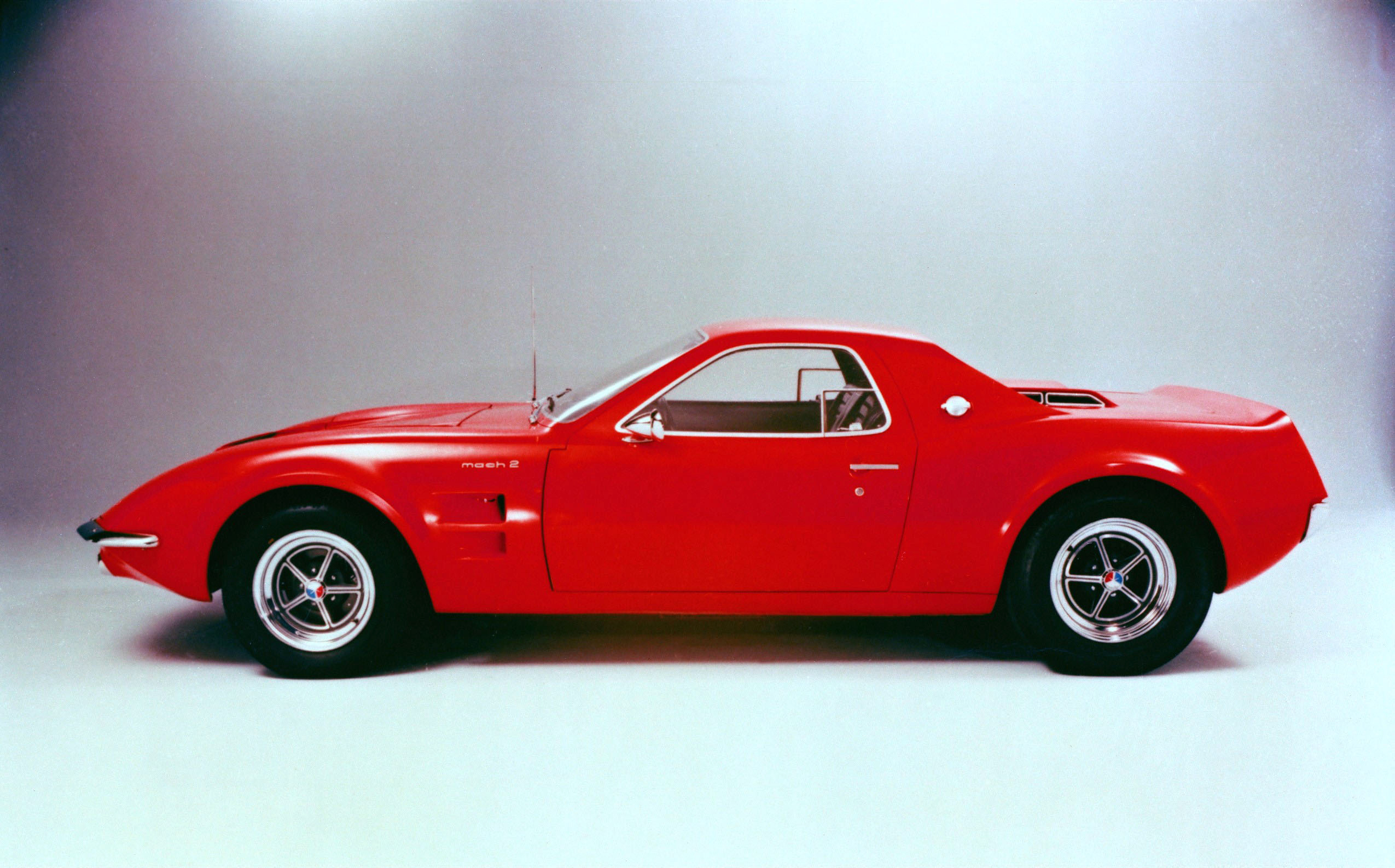 1967р. Mach 2 Concept, фото Ford Mustang