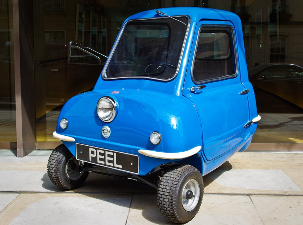 фото Peel P50, незвичайні конструкції, автомобілі рекордсмени