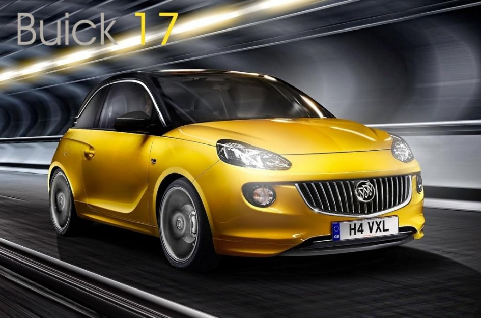 фото Opel Adam, Buick, США, Америка