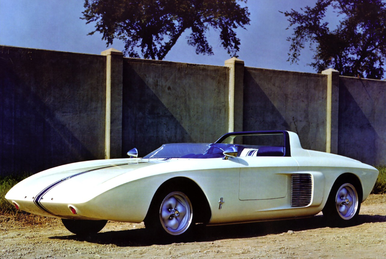 1962р. Mustang 1 Roadster Concept Car, фото Ford Mustang