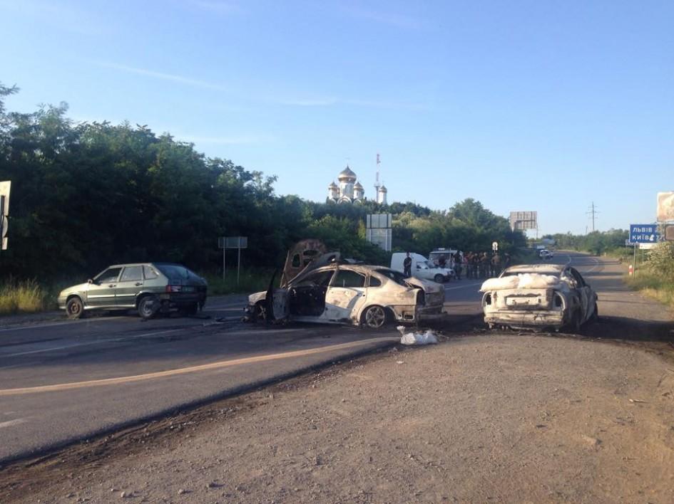фото дорога розблокована, Мукачево, Ужгород, Київ
