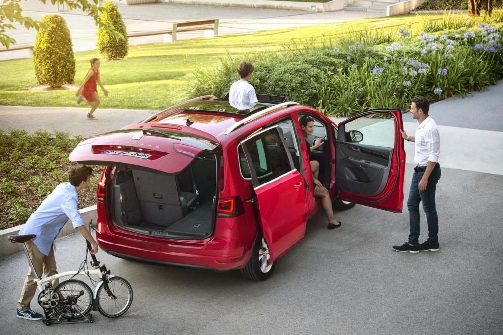 фото SEAT Alhambra, Spain, Іспанія, VW Sharan, DSG, TDI, TSI, Євро 6