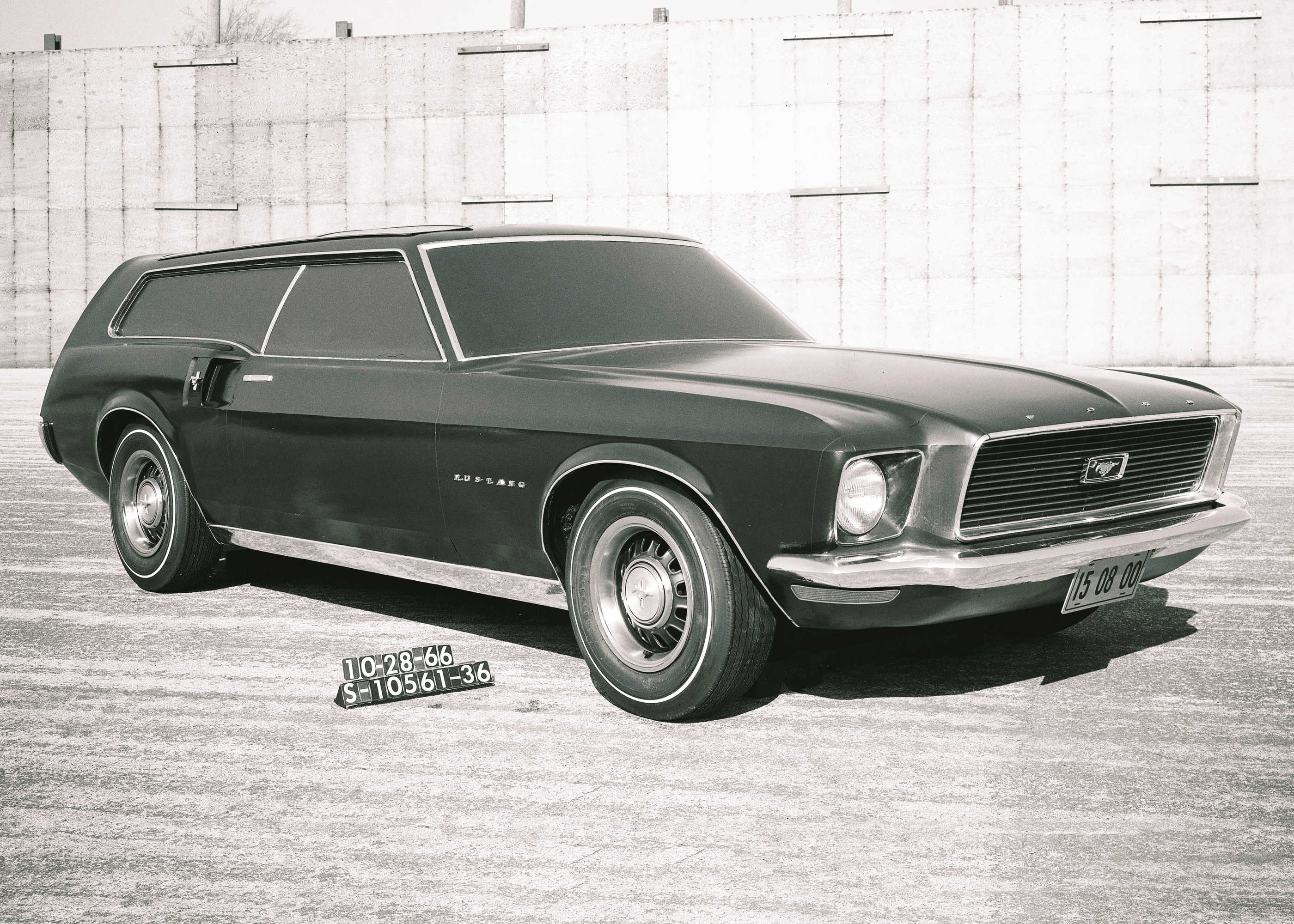 1966р. Mustang Station Wagon, фото Ford Mustang