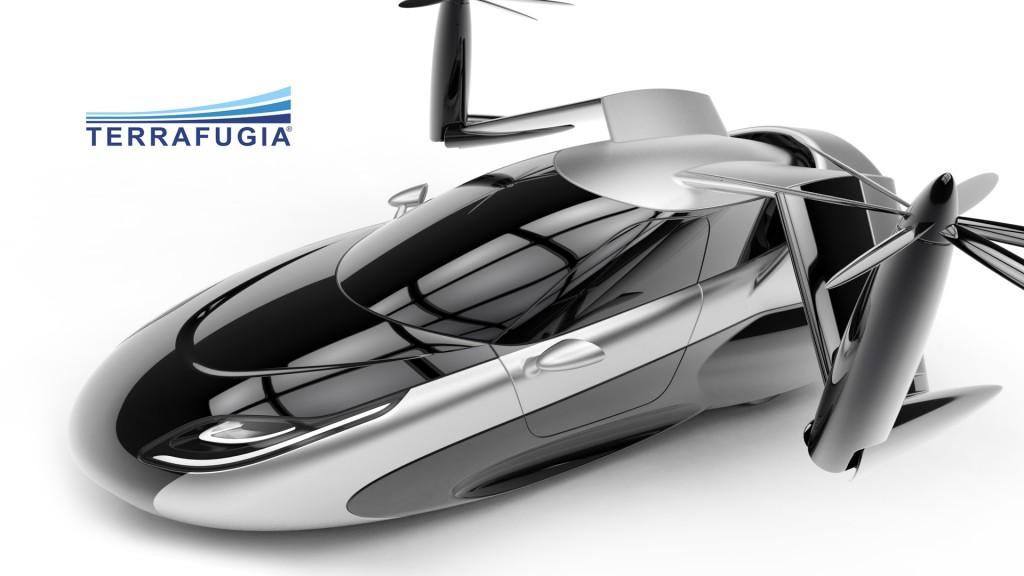фото Terrafugia TF-X, летючий автомобіль, гвинт, крила