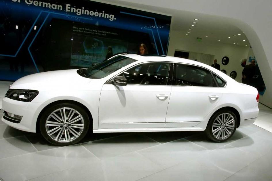 фото VW Passat B7 USA, B8, рестайлінг