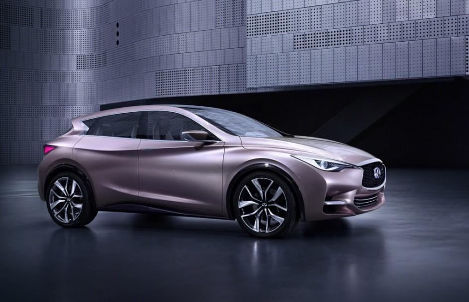 фото Infiniti Q30, MFA, Mercedes-Benz GLA-Klasse, QX30, хетчбек