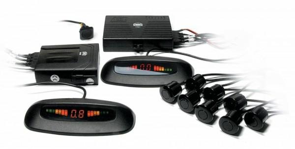 фото парктронік, Sho-me, Parkmaster, індикатор, датчики, рідкокристалічний дисплей, екран, проекція на лобове скло