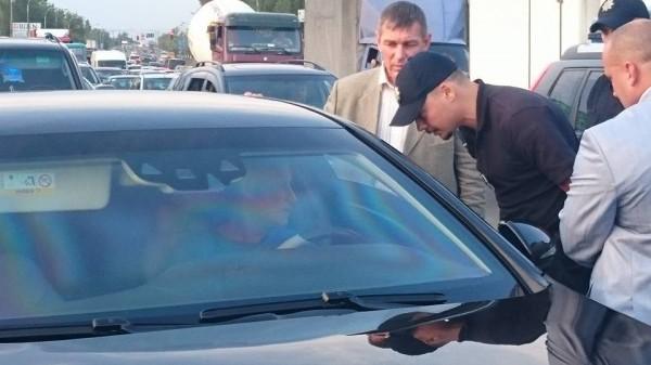 фото патрульна поліція Києва, Юрій Зозуля, Григорій Суркіс, Mercedes-Benz