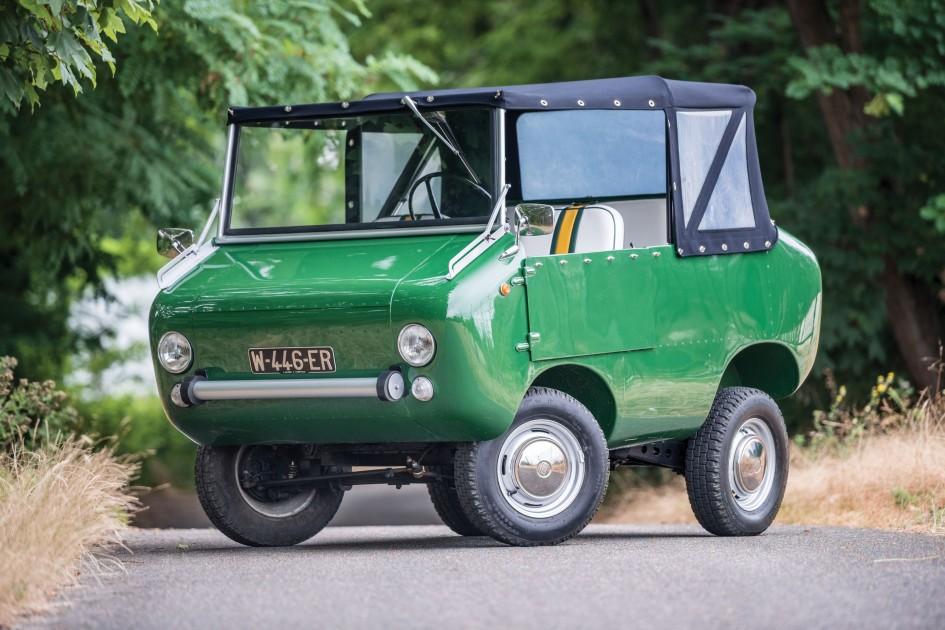 фото Ferves Ranger, 1970, ЛуАЗ, Карло Феррарі, Carlo Ferrari, Ferrari Veicoli Speciali, Туринський автосалон 1966, Fiat 500, 600