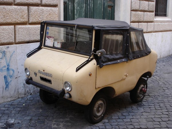 фото Ferves Ranger, Fiat 500, 600, Італія