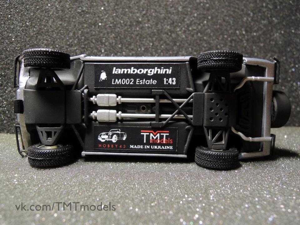 Lamborghini LM002 Estate, султан Брунею, Сальваторе Діоманте, Autoconstruzioni SD, TMTmodels