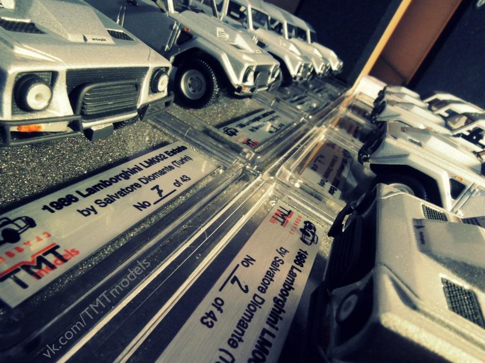 TMTmodels, Lamborghini LM002 Estate, султан Брунею, Сальваторе Діоманте, Autoconstruzioni SD