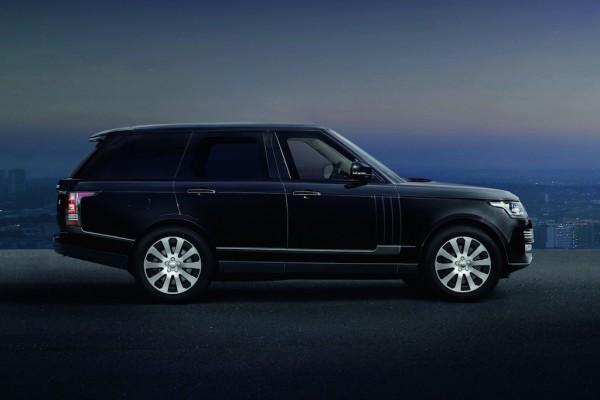 фото Range Rover Sentinel