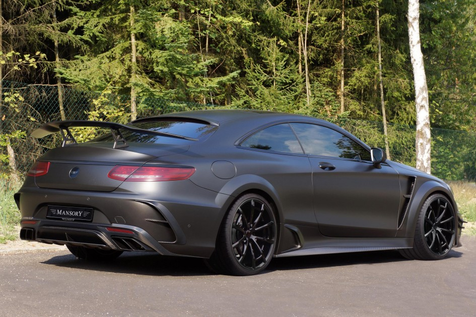 фото Mercedes S63 AMG Coupe Black Edition