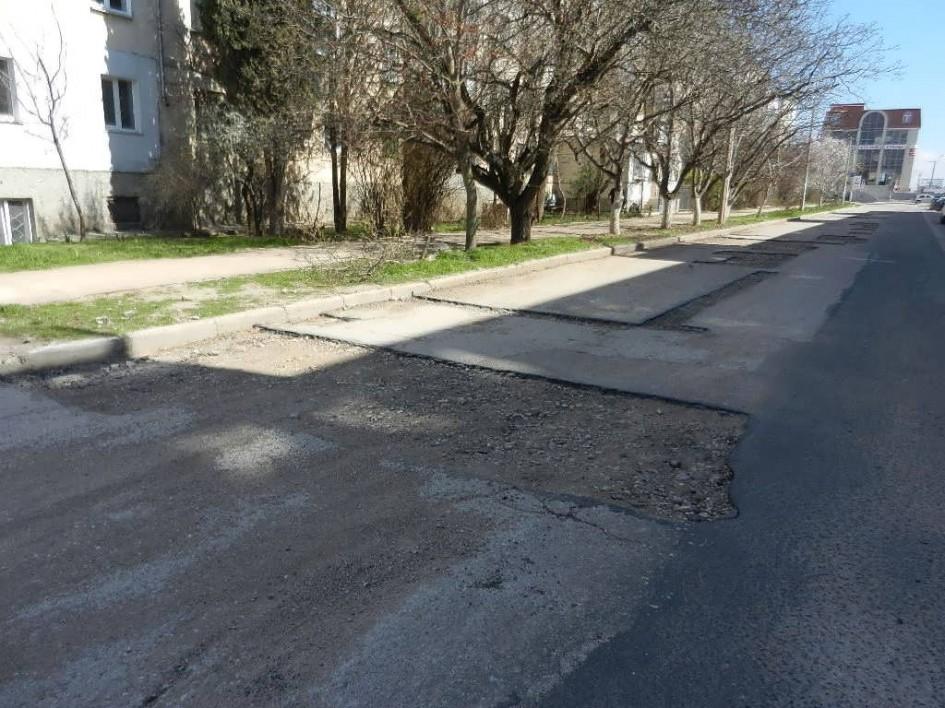 """фото дороги Севастополя, Крим, Мішин, """"Дорожній контроль - Севастополь"""""""