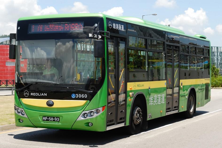 фото Yutong, безпілотний автобус, Китай, Хенань, Центральний Китай