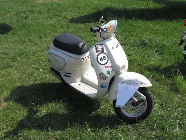 мотоцикли, OldCarLand-2016, Honda Giorno, скутери