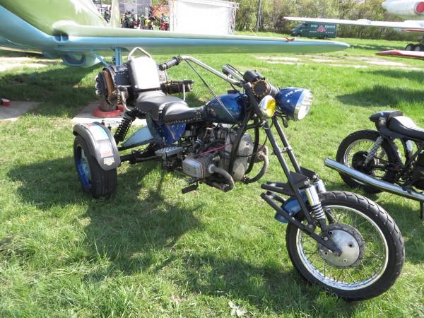 мотоцикли, OldCarLand-2016, КМЗ Дніпро 10-36