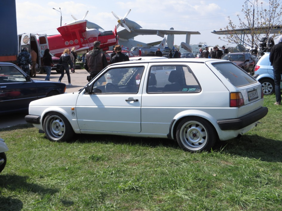 OldCarLand-2016, VW Golf II
