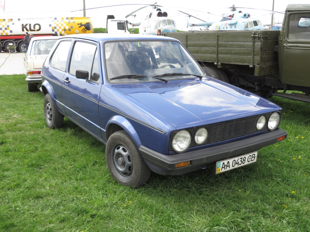 OldCarLand-2016, VW Golf I