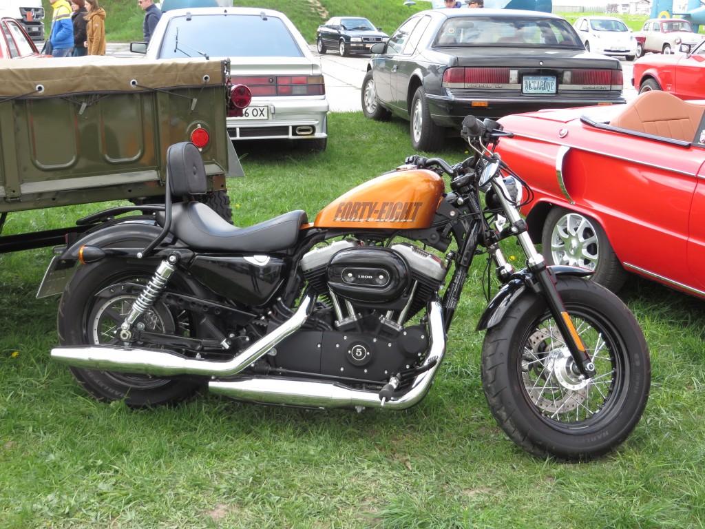 Harley-Davidson Sportster XL1200X 'Forty-Eight', мотоцикли