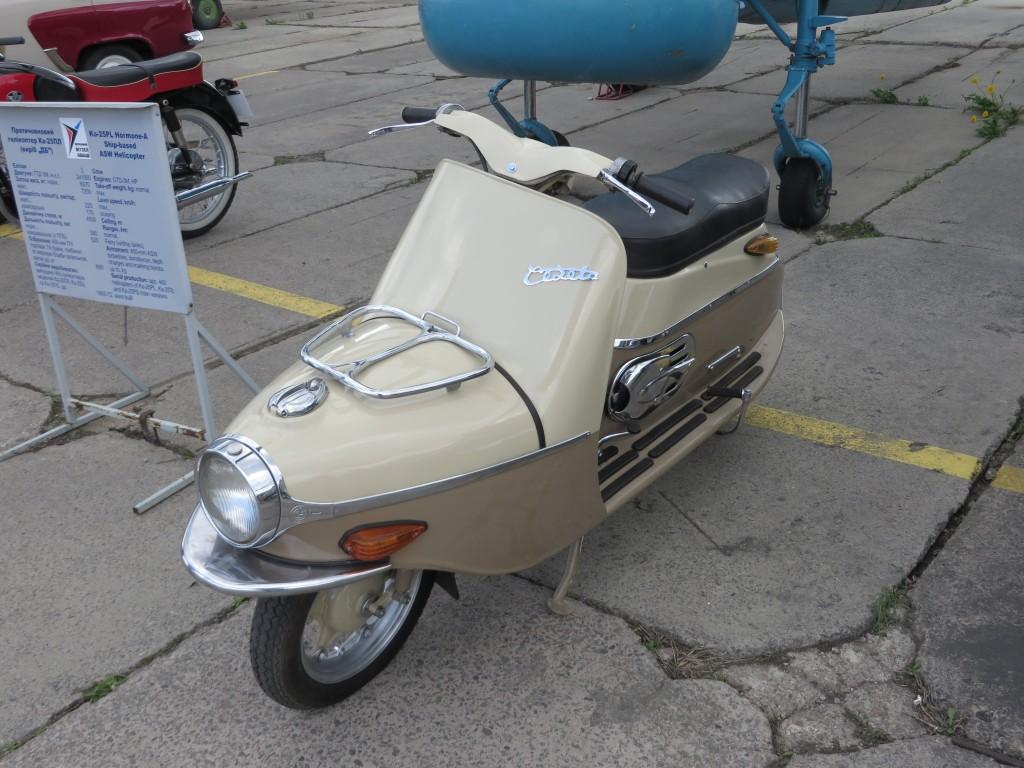 мотоцикли, OldCarLand-2016, Cezeta Type 501, 501, скутери