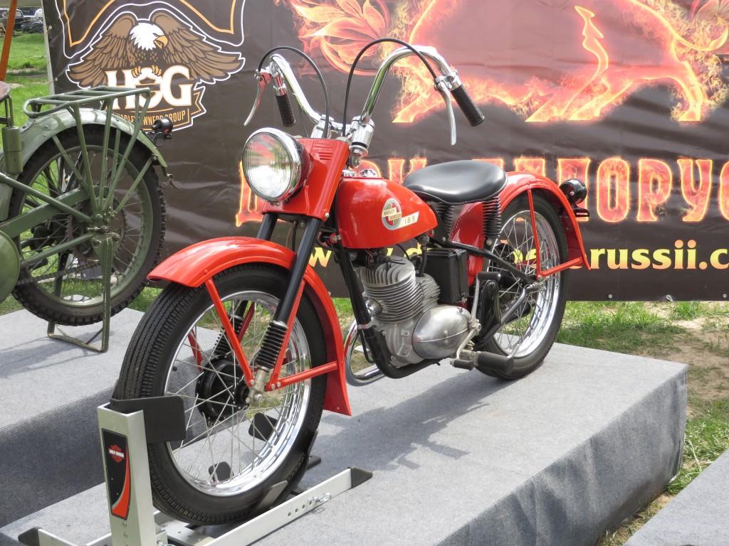 Harley-Davidson 165, мотоцикли