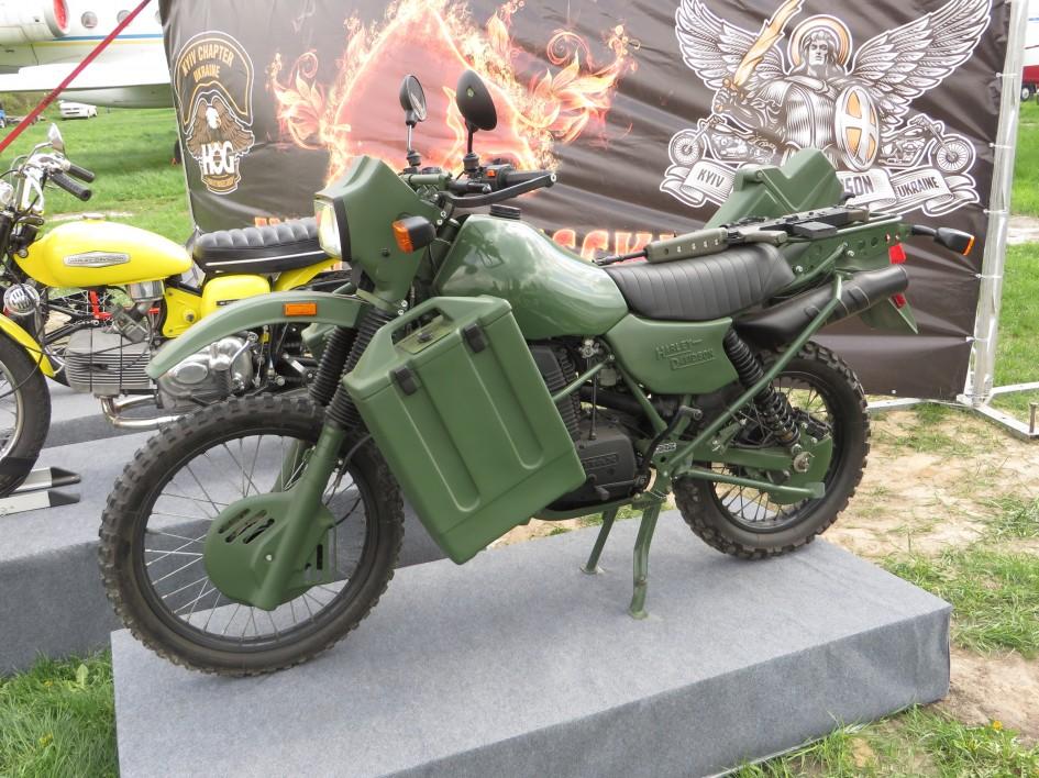 Harley-Davidson MT350E, мотоцикли, Armstrong MT500