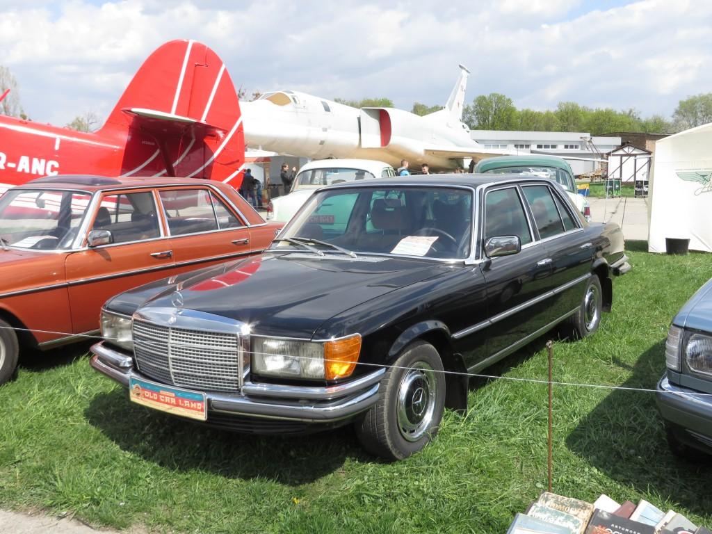 автомобілі, OldCarLand-2016, Mercedes-Benz W116