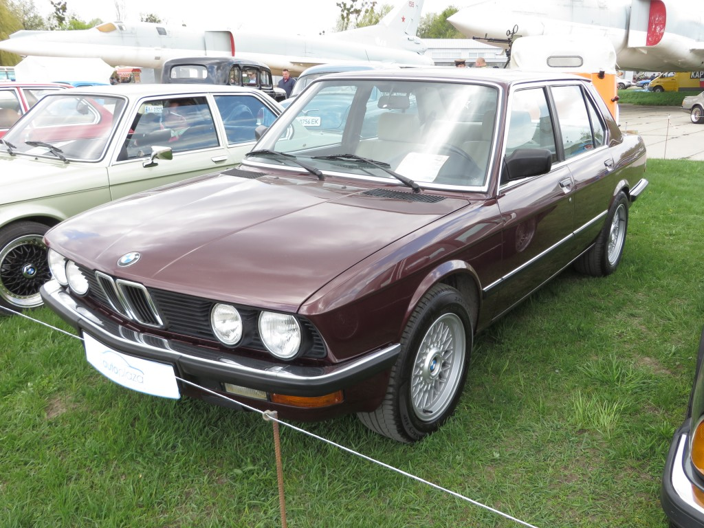 автомобілі, OldCarLand-2016, BMW 520