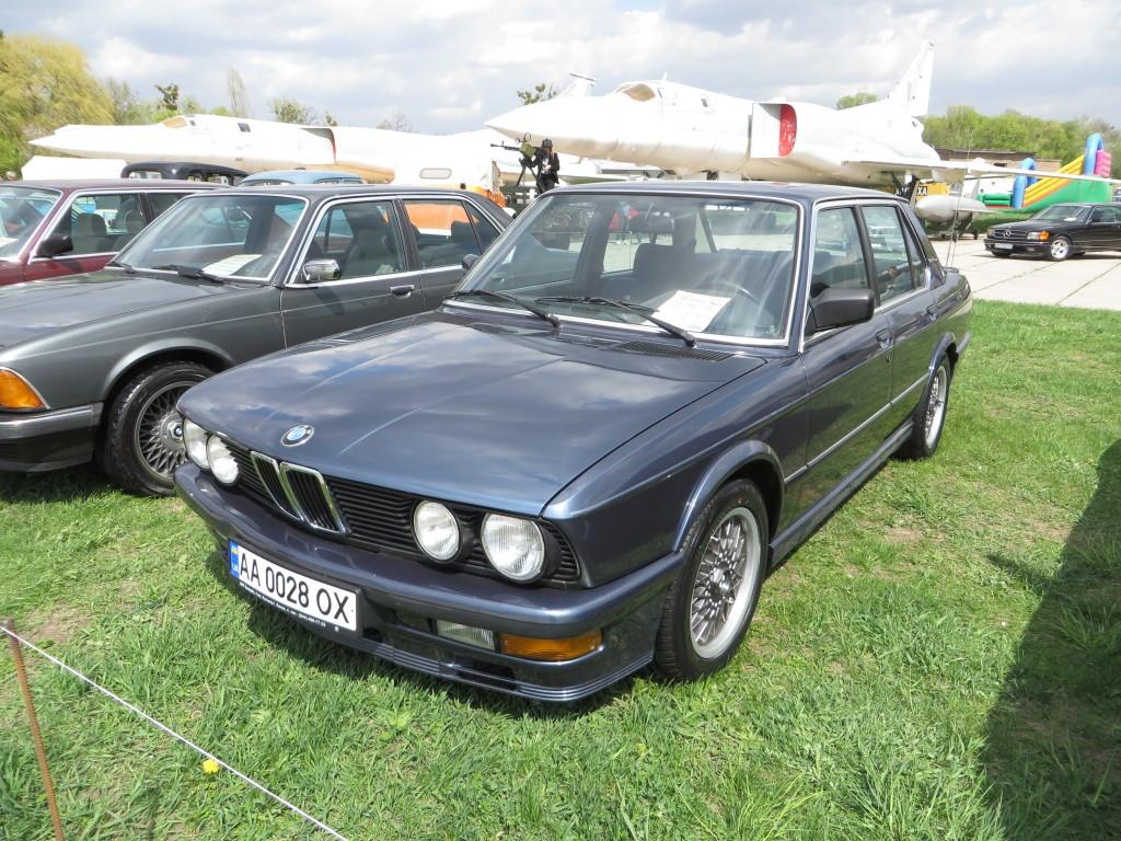 автомобілі, OldCarLand-2016, BMW 535