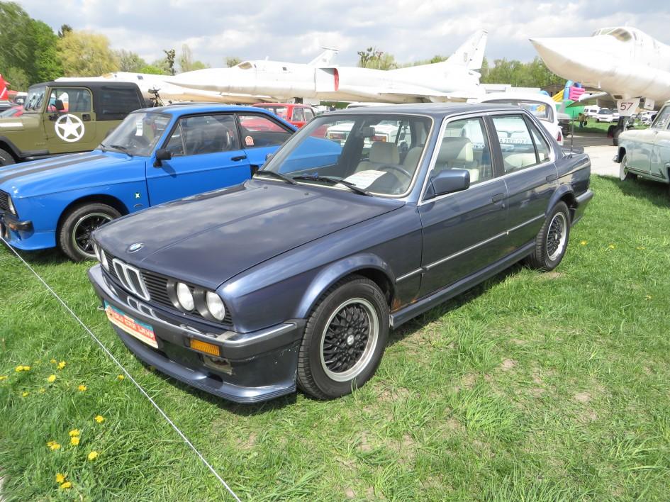 автомобілі, OldCarLand-2016, BMW 325i MTech1