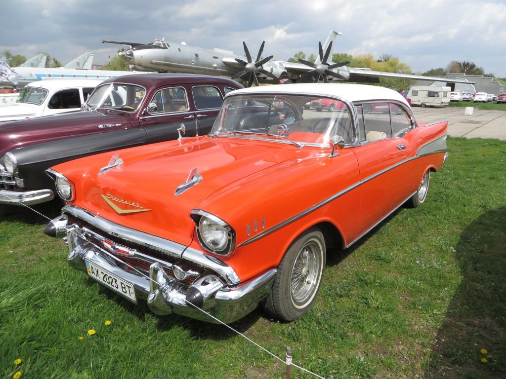 автомобілі, OldCarLand-2016, Chevrolet Bel Air
