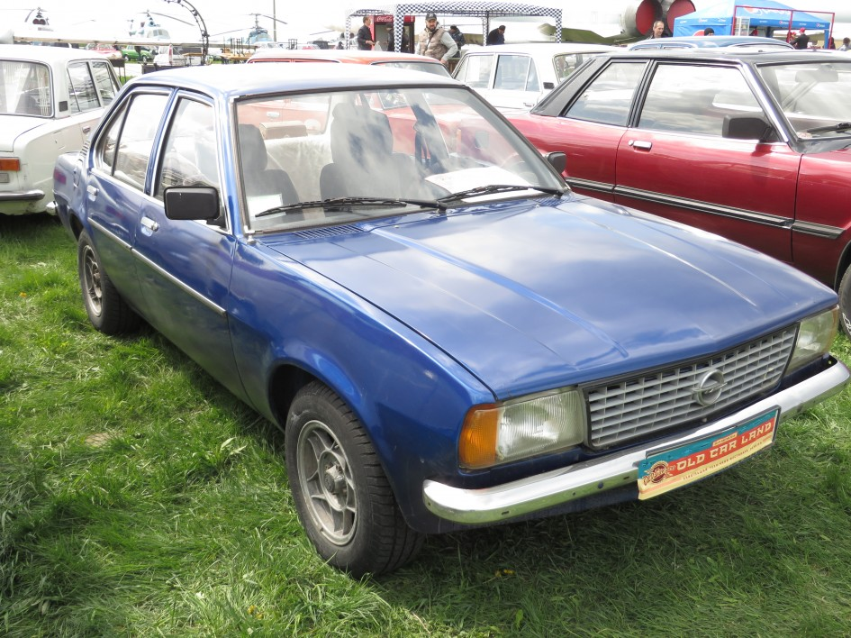 автомобілі, OldCarLand-2016, Opel Ascona B