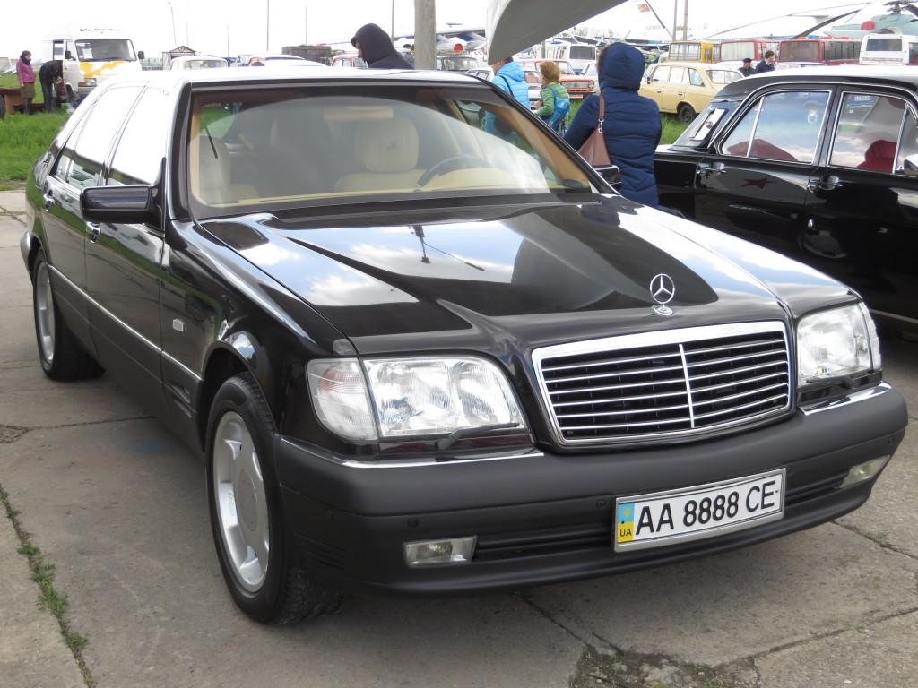 автомобілі, OldCarLand-2016, Mercedes-Benz W140