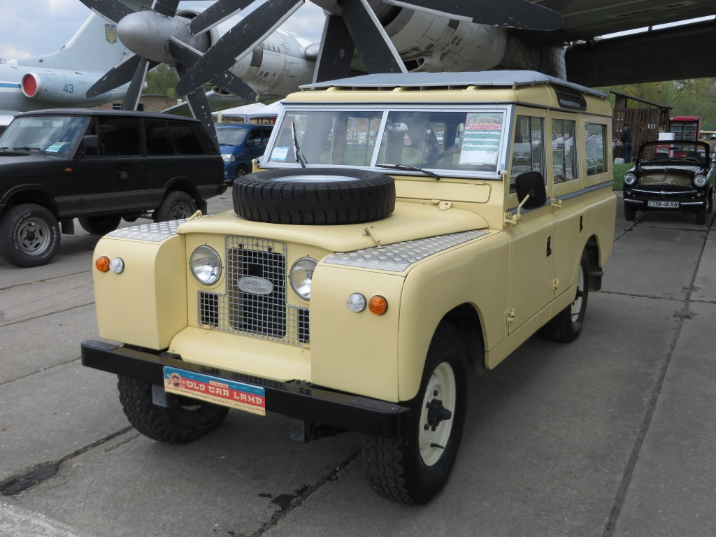 автомобілі, OldCarLand-2016, Land Rover 109 Series IIA