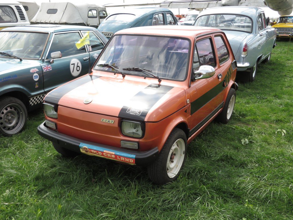автомобілі, OldCarLand-2016, Fiat 126