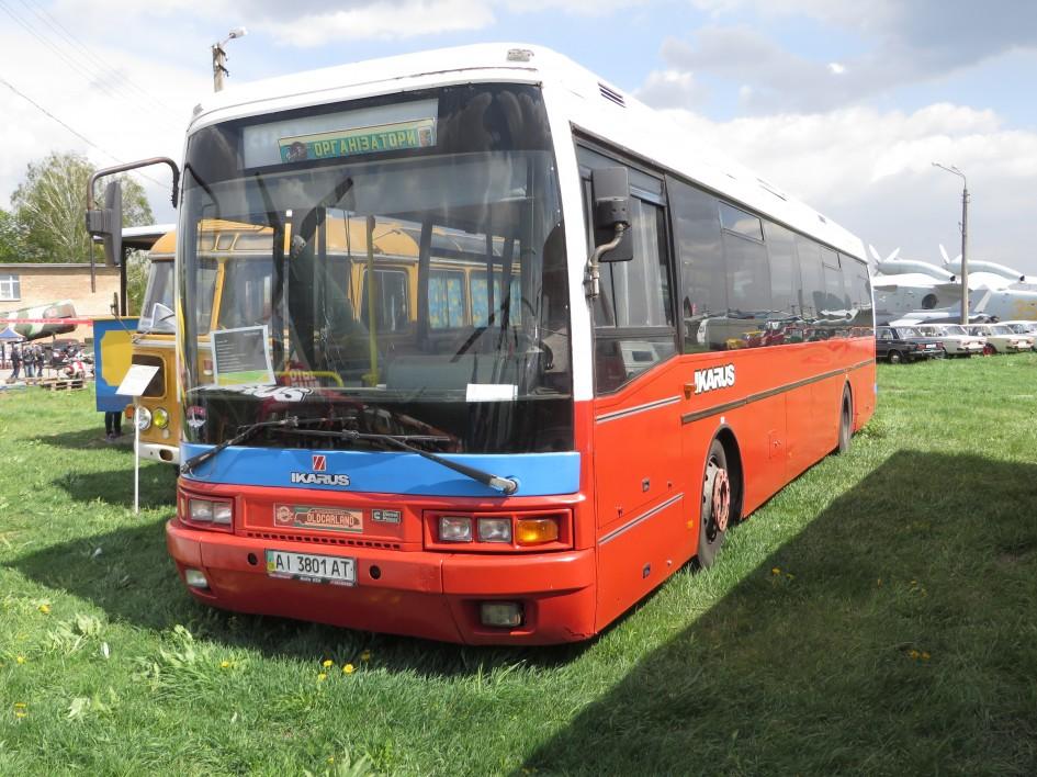 автомобілі, OldCarLand-2016, Ikarus E94.05