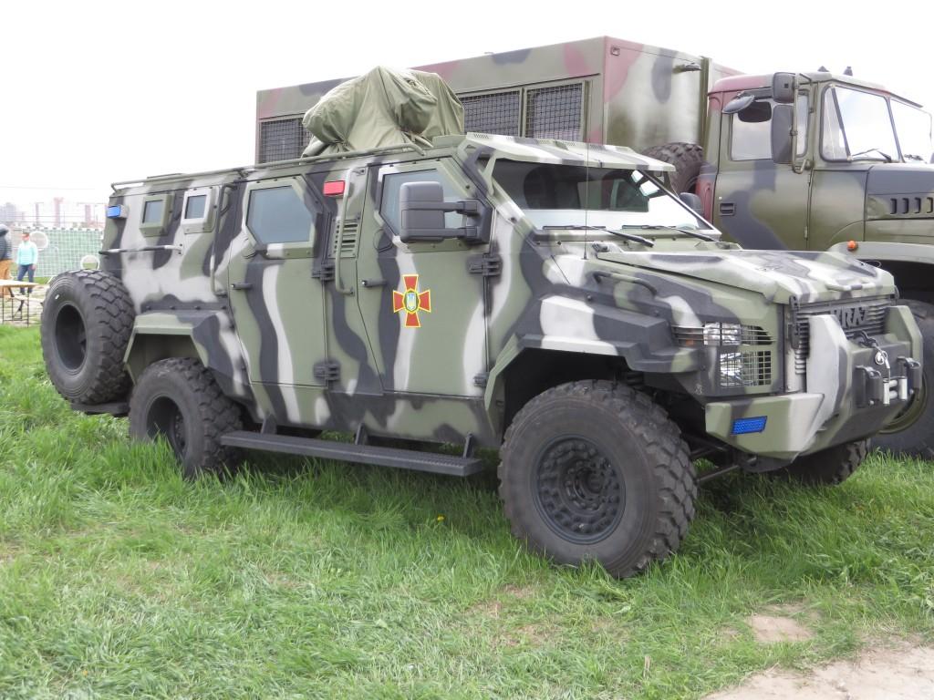 автомобілі, OldCarLand-2016, KrAZ Spartan